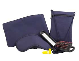 Foldable Hair Brush Amenity Kit