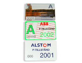 parking card 